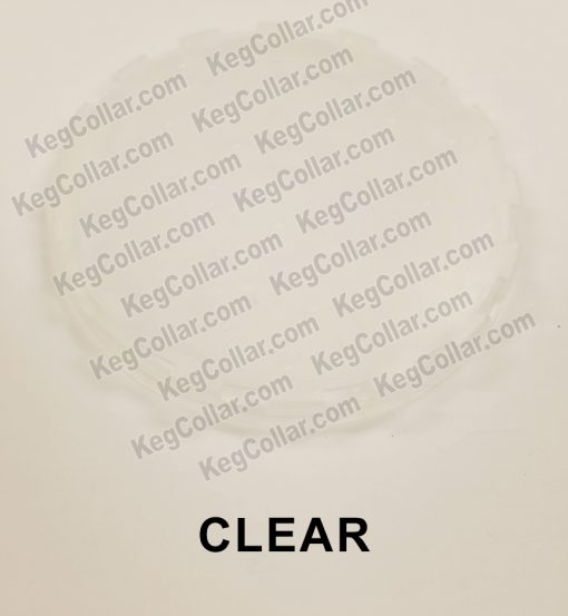 clear vented keg cap sample image