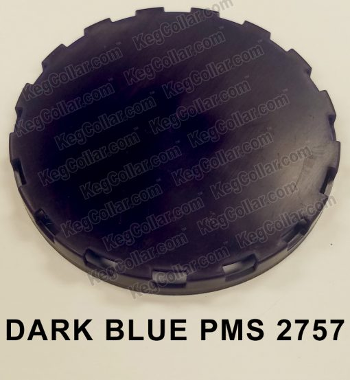 dark blue vented keg cap sample image