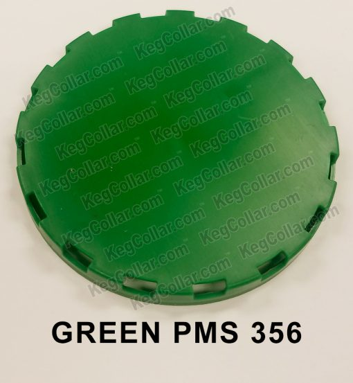 green vented keg cap sample image