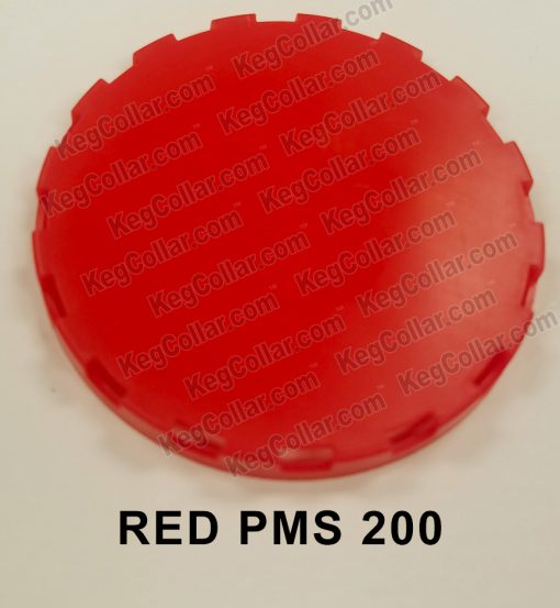 red vented keg cap sample image