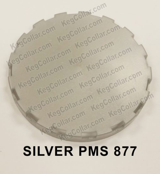 silver vented keg cap sample image