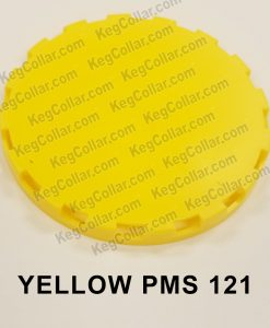yellow vented keg cap sample image