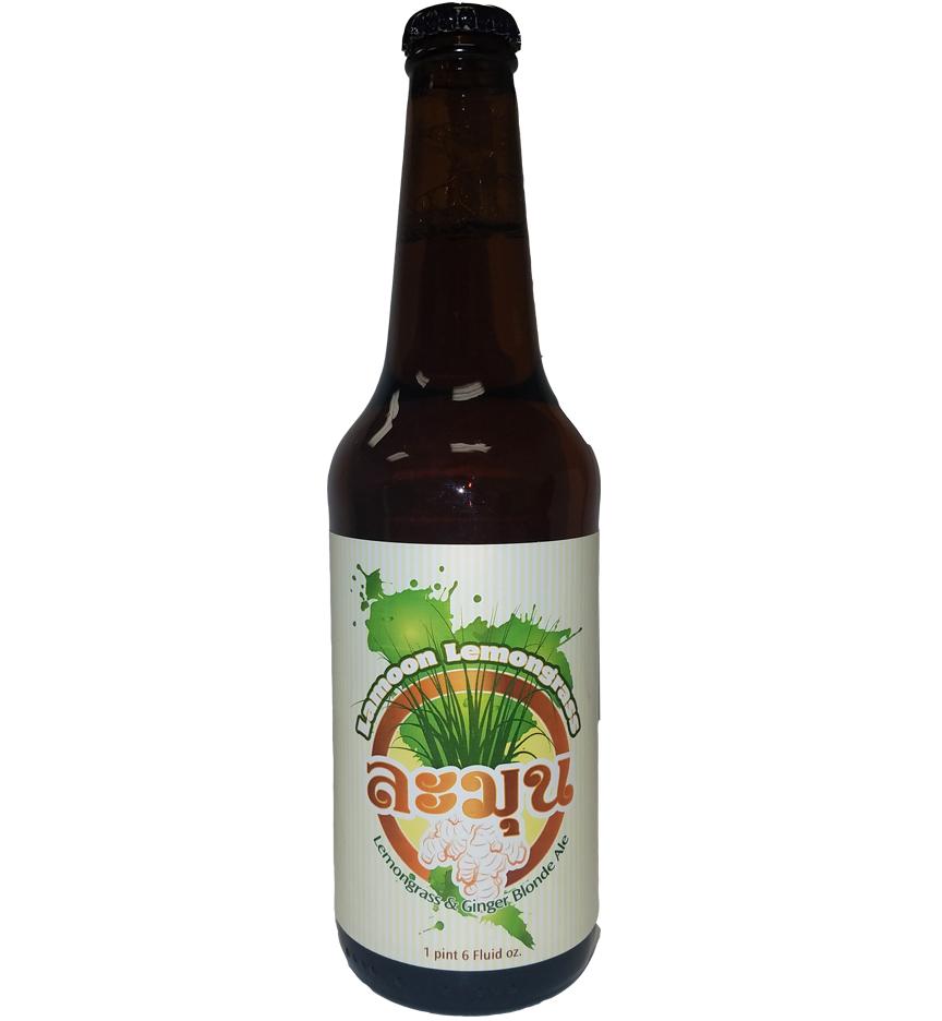 beer bottle label with 4 color custom printed bottle label for Bury Me Brewing