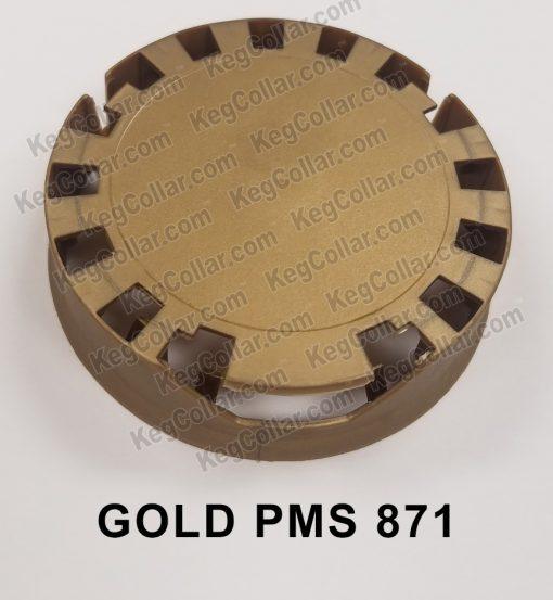 Tamper Evident Keg Cap gold