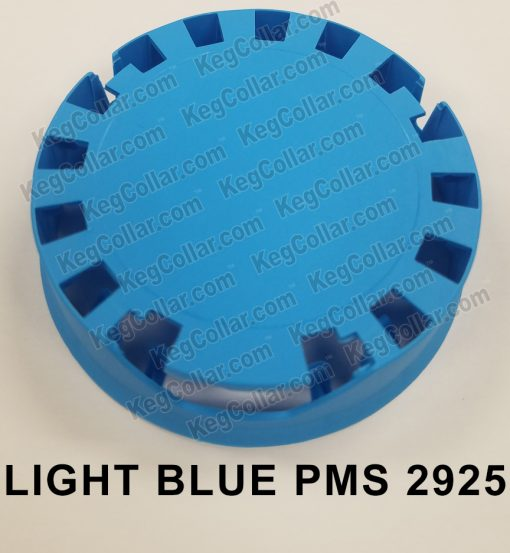 Tamper Evident Keg Cap light blue