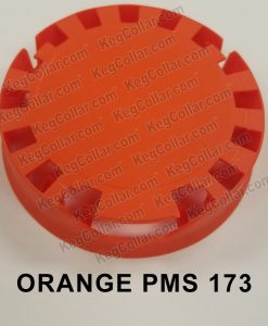 Tamper Evident Keg Cap Orange
