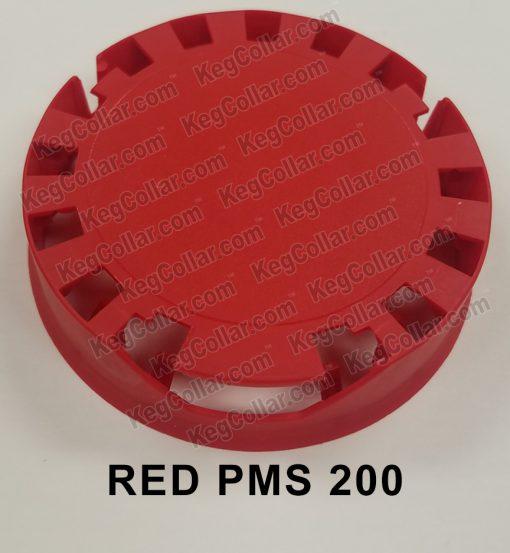 Tamper Evident Keg Cap red