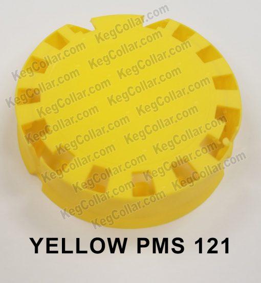 Tamper Evident Keg Cap yellow