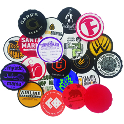 Keg Cap Stickers
