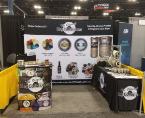 KegCollar.com booth 3031 at the Craft Brewers Conference in Denver, Colorado