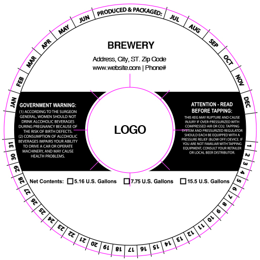 custom keg collar background template 9